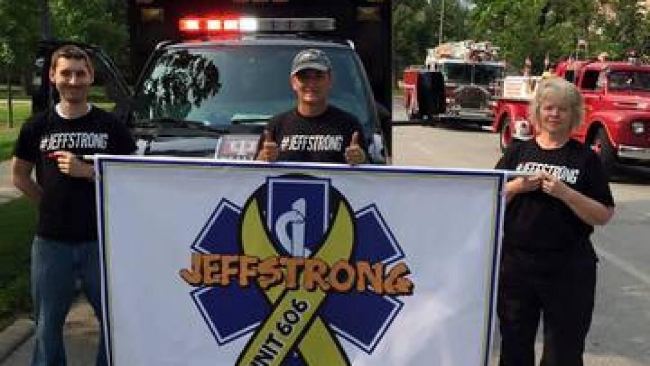 PHOTOS: Jeff's journey