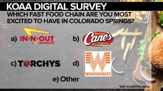 KOAA Fast Food Survey