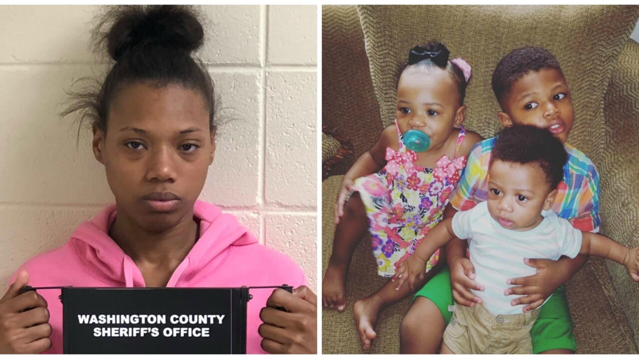 PD: 2 kids drown when car rolls into creek, Mississippi mom arrested