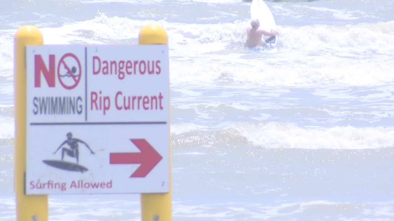 Search for young swimmer continues