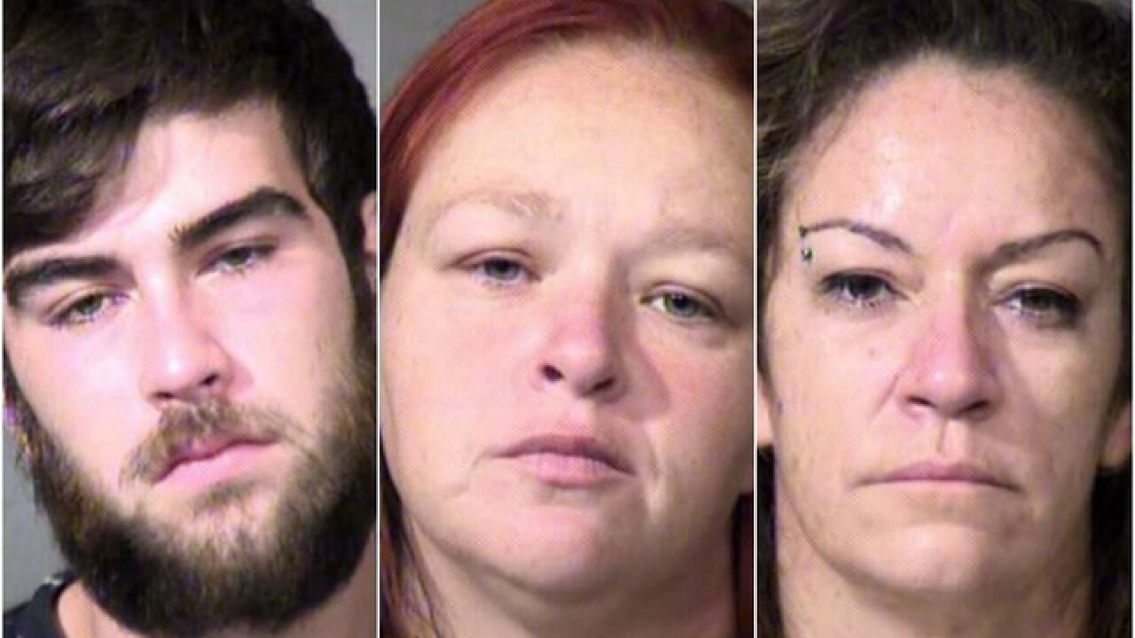 PD: Trio caught, possibly responsible for 25 Scottsdale burglaries