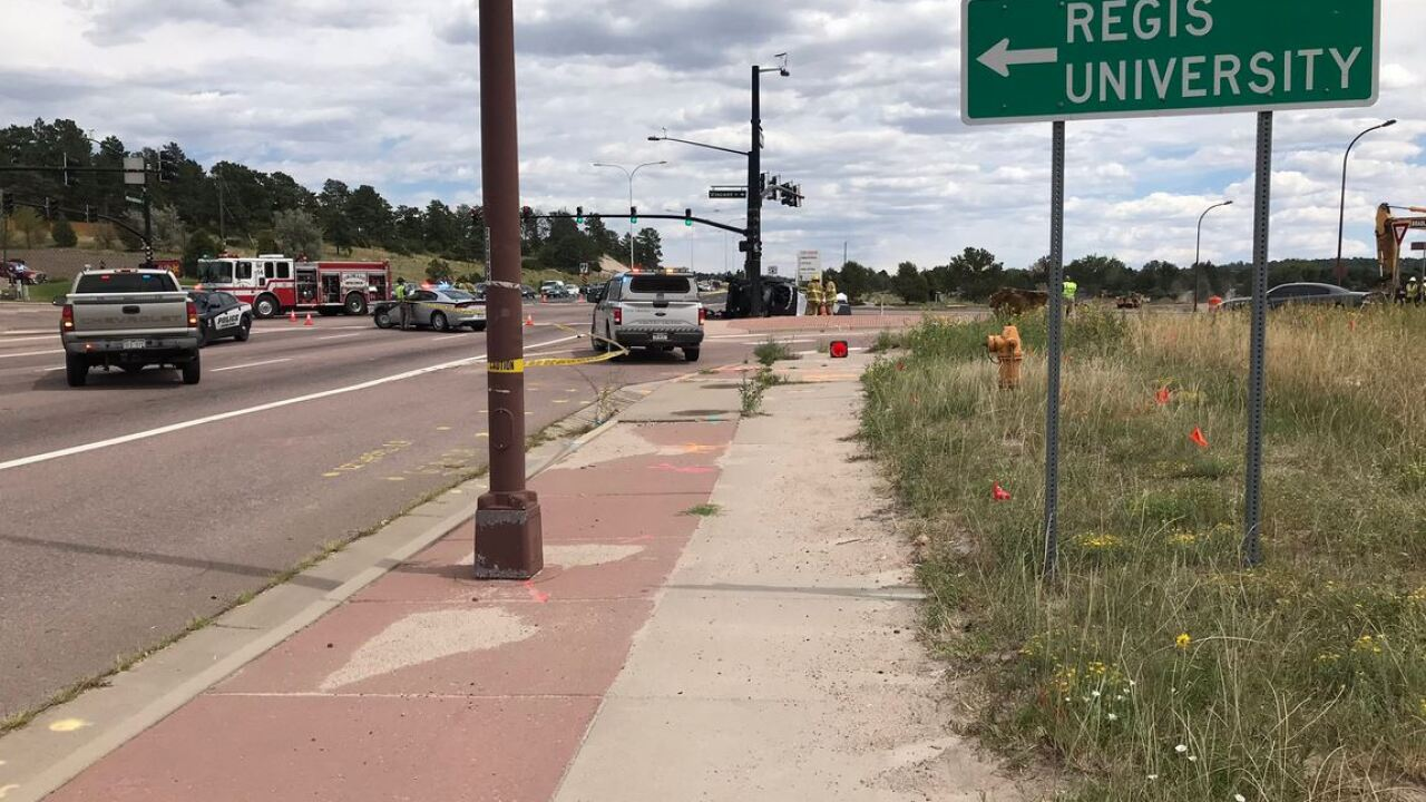 Double fatal crash on Woodmen Rd