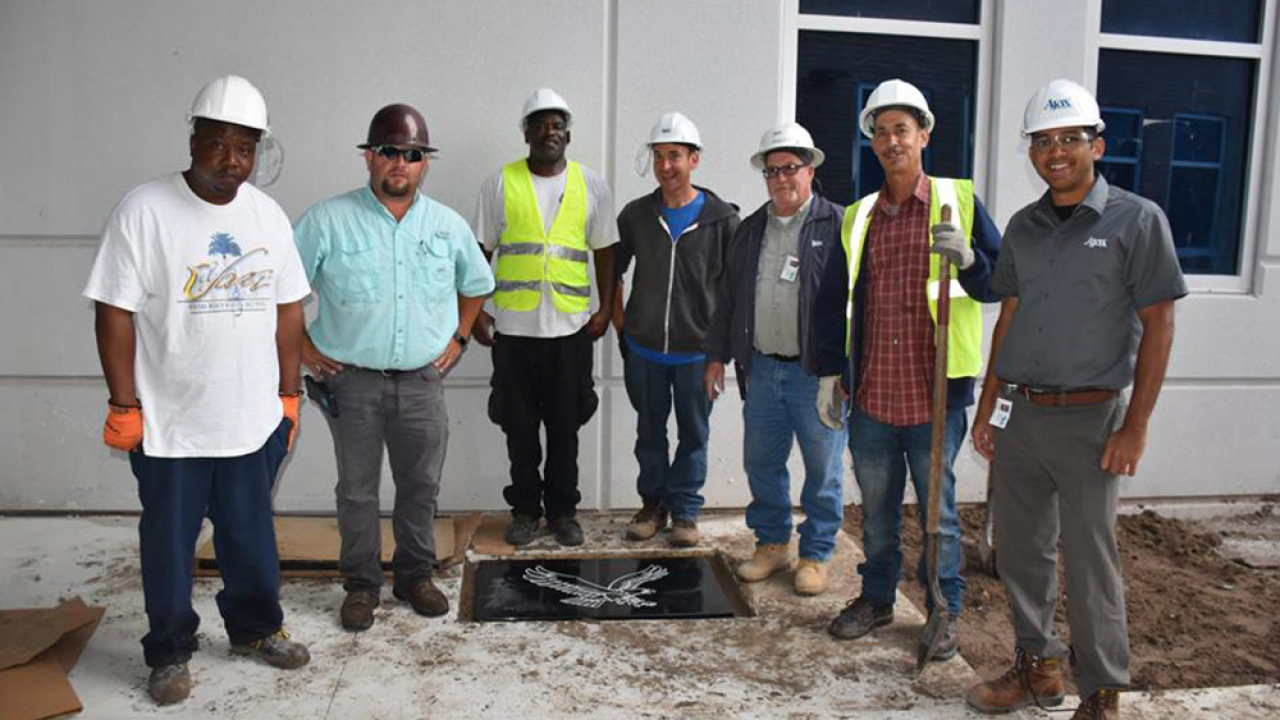 The St  Pete Police Dept  buried a time capsule at their new