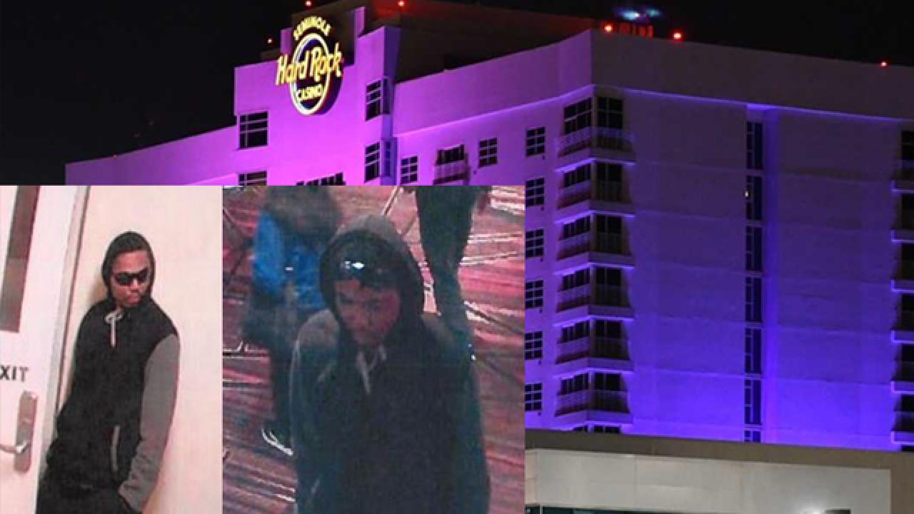 Armed suspect robbed Seminole Hard Rock Casino