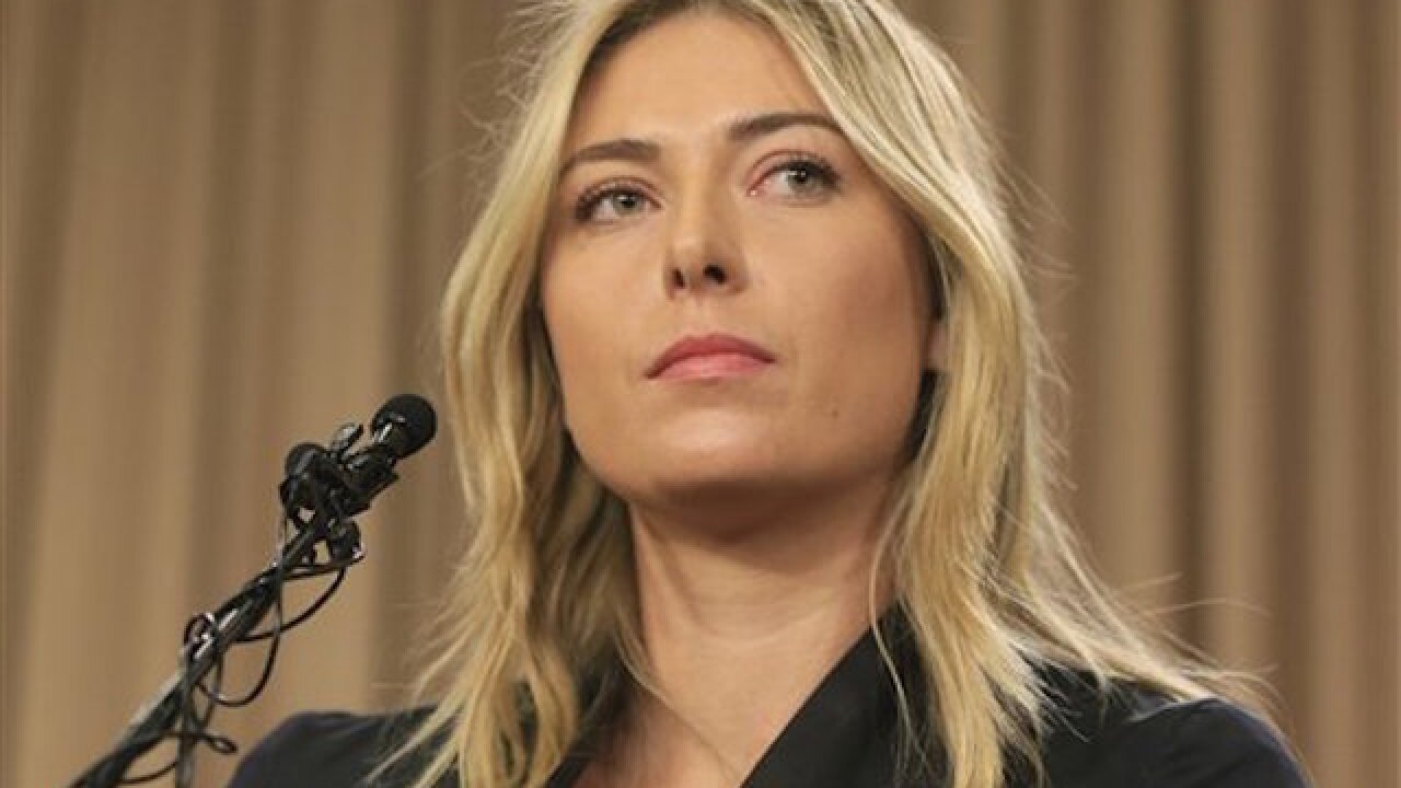 Sharapova disciplinary hearing slated with ITF
