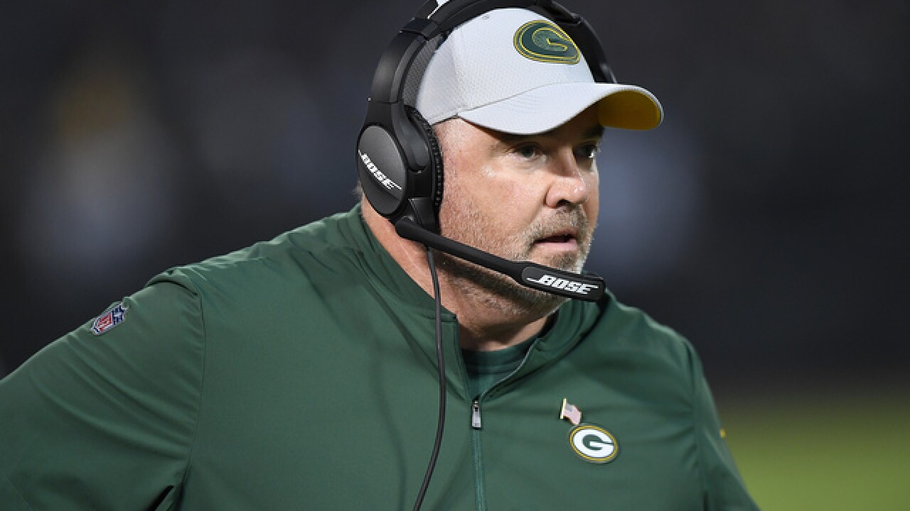 Fans savage Packers Head Coach Mike McCarthy on social media after costly decision to punt