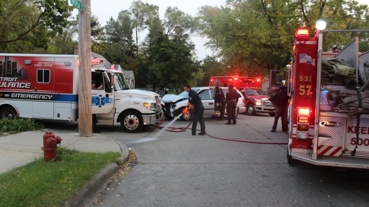 Some students taken to hospital after bus crash