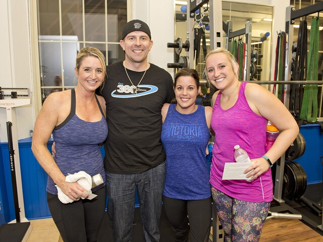 Sweatworking with WCPO at Cincy 360 Fitness