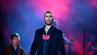 Maroon 5 Adam Levine