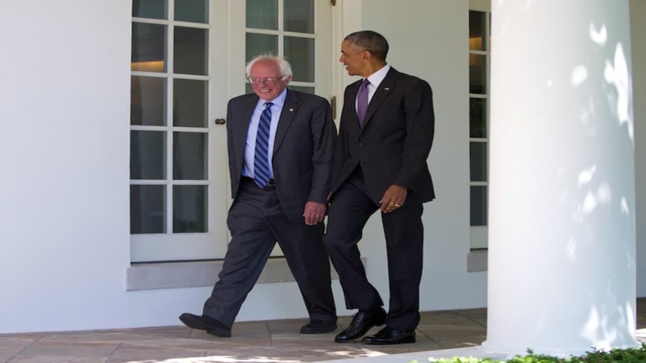 Bernie Sanders, Obama meet in Oval Office