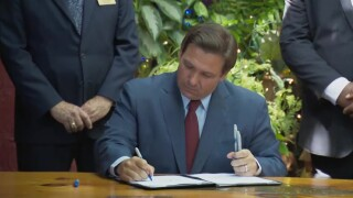 Florida Gov. Ron DeSantis signs the new state budget in New Smyrna Beach on June 2, 2021.jpg