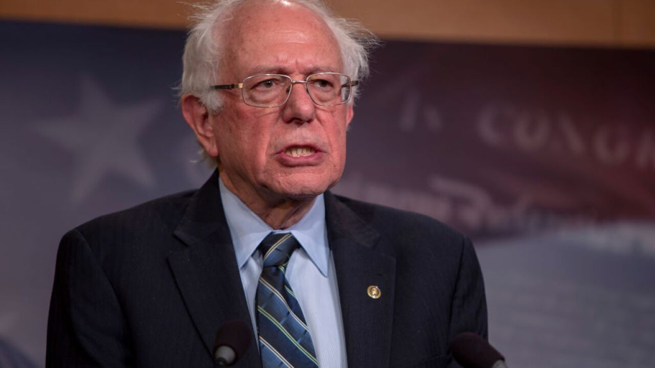 Sen. Bernie Sanders released from the hospital