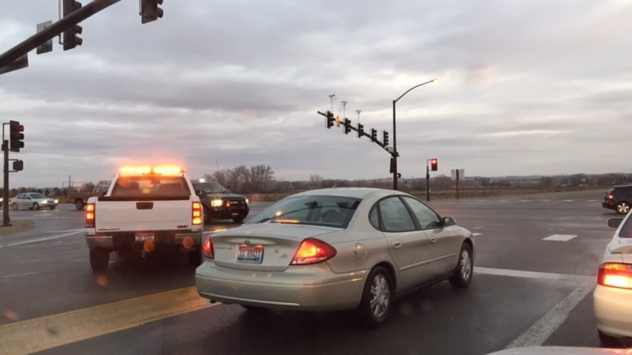 Ice causes multiple crashes across valley