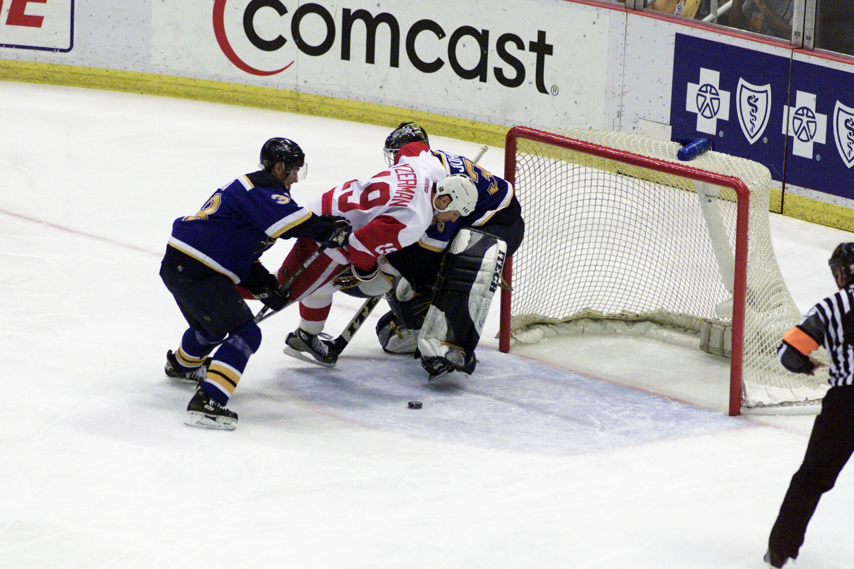 Blues v Red Wings