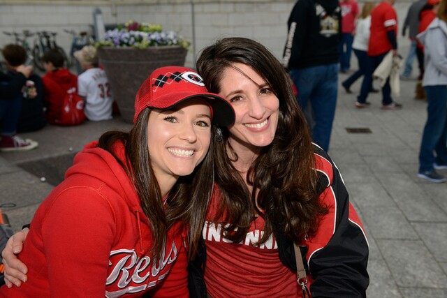 Opening Day block party at Moerlein Lager House