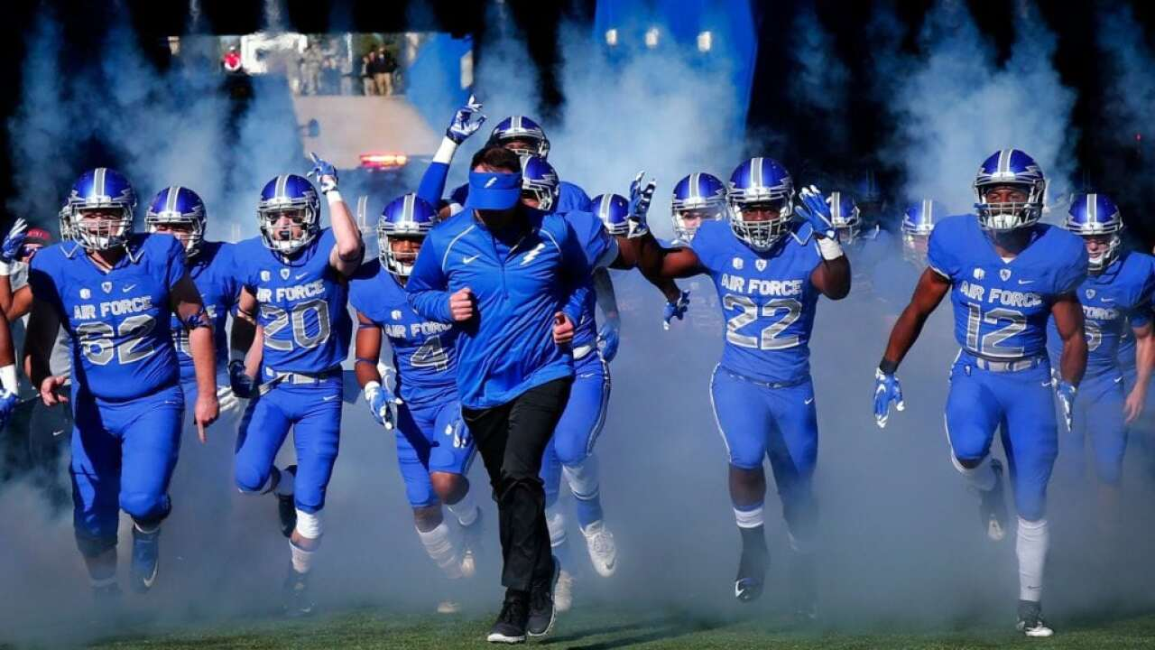 TV times set for some 2018 Air Force Football games