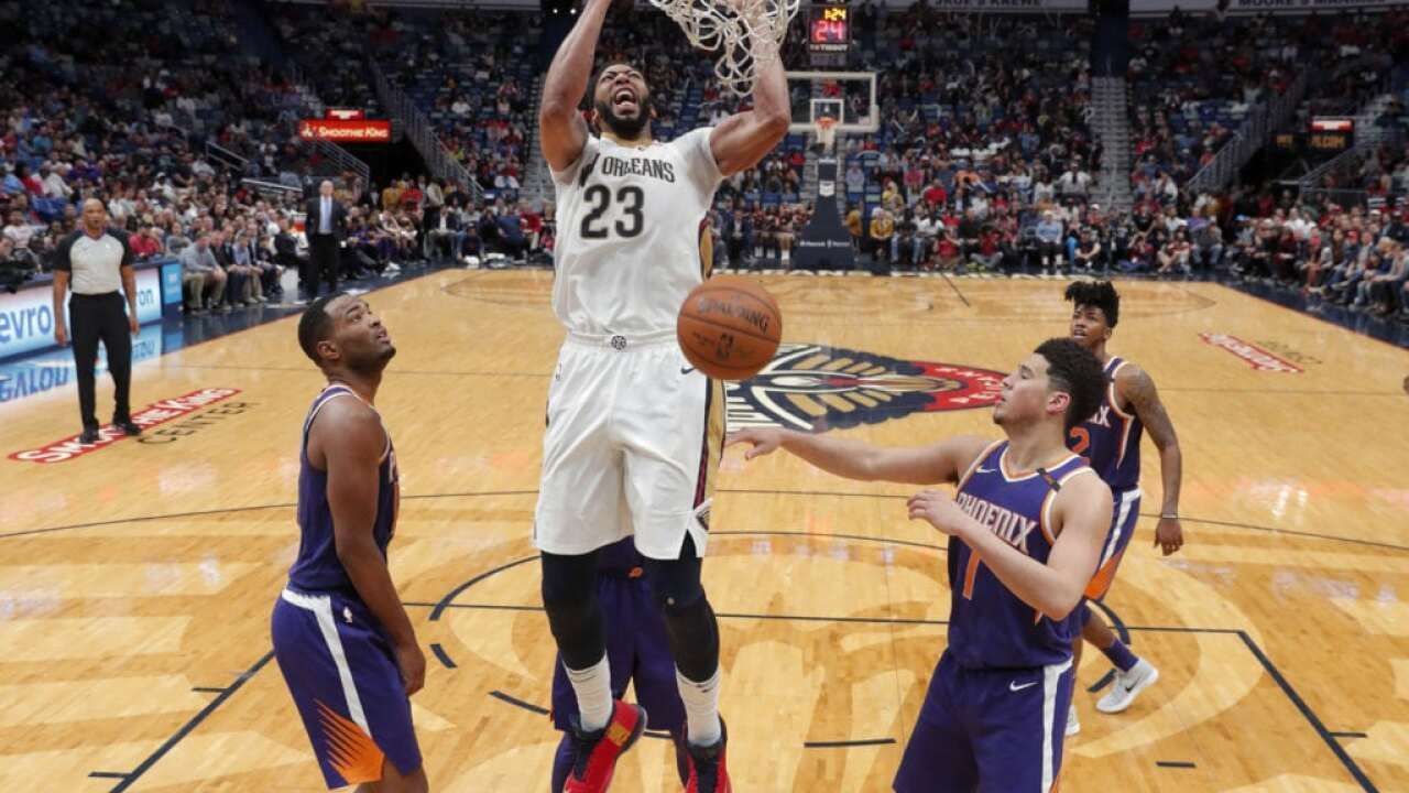 Anthony Davis Traded to Lakers