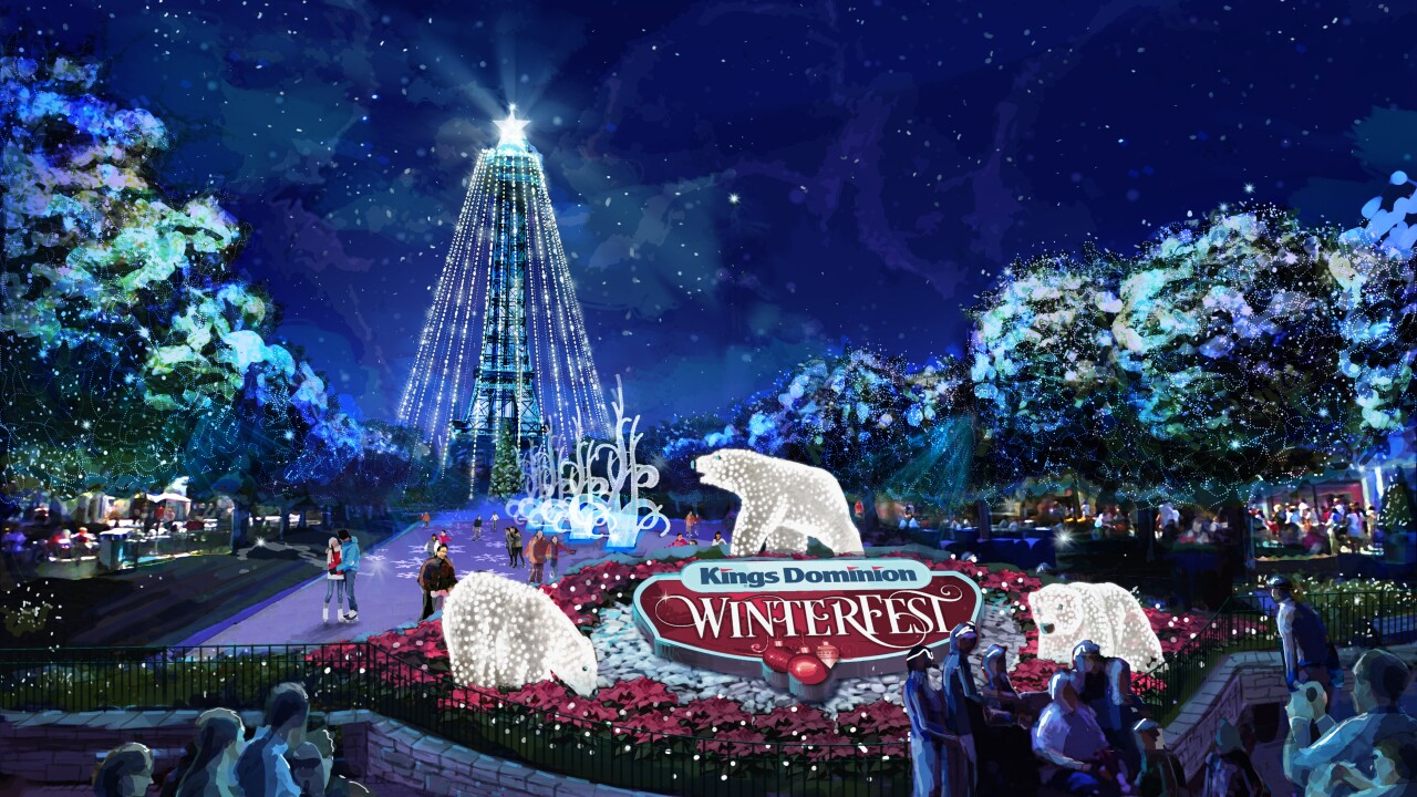 Winter is coming… to Kings Dominion