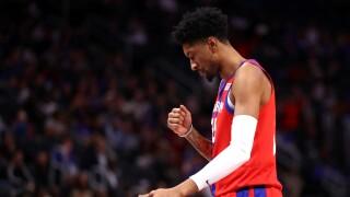 Christian_Wood_San Antonio Spurs v Detroit Pistons