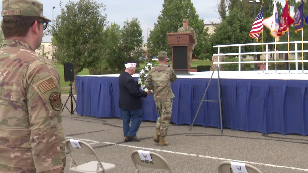 Malmstrom AFB conducts POW/MIA recognition ceremony