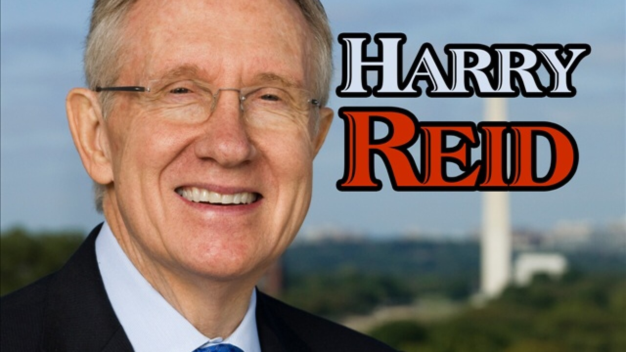 Harry Reid released from hospital after car crash