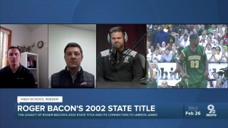 The legacy of Roger Bacon's 2002 state title and its connection to LeBron James