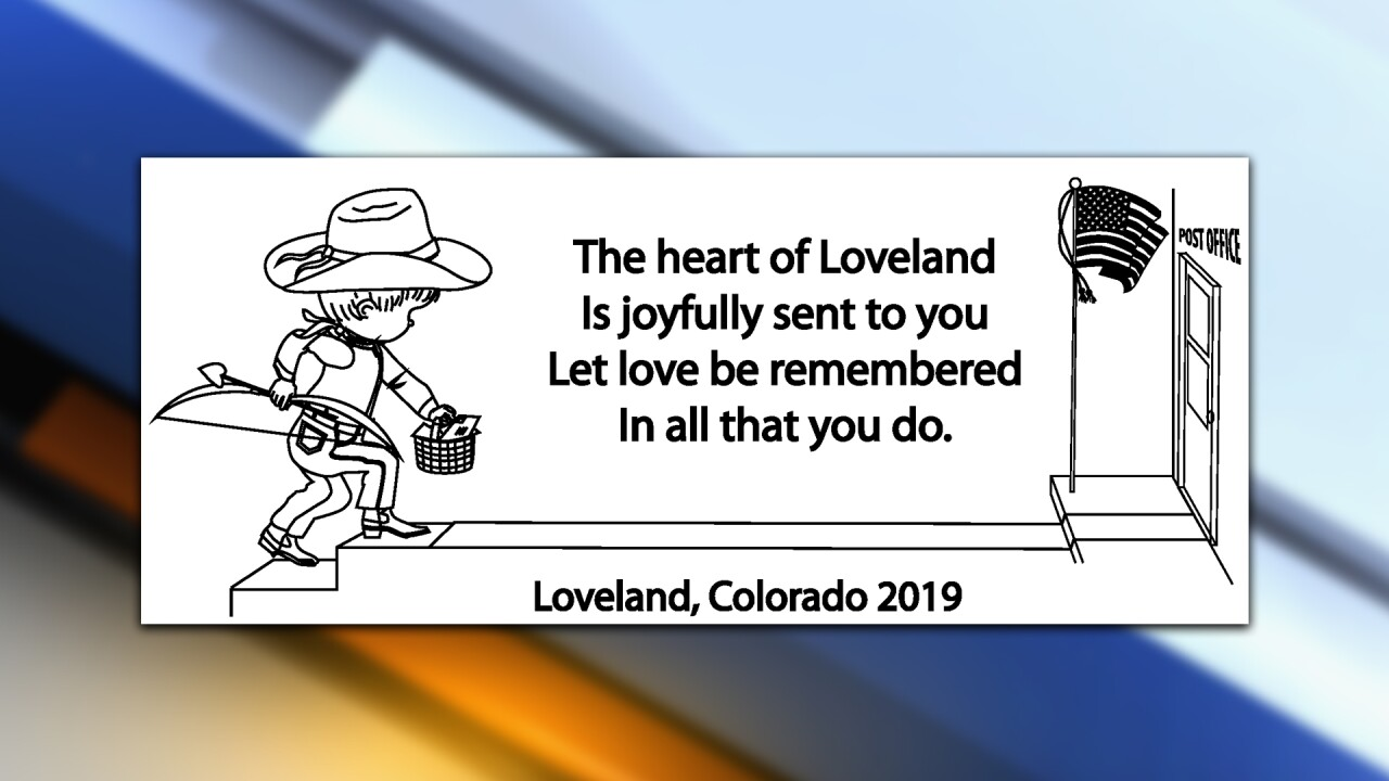 send your valentine's day mail to loveland colorado for a