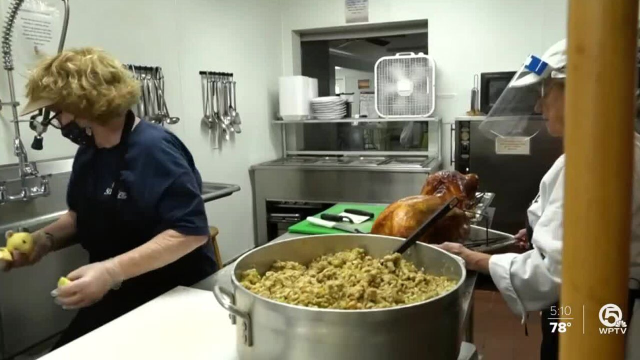 Love and Hope In Action Thanksgiving meal