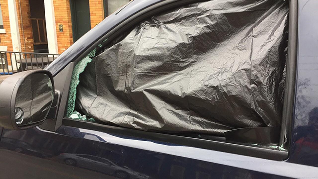 Dozens of car windows smashed in Ohio City