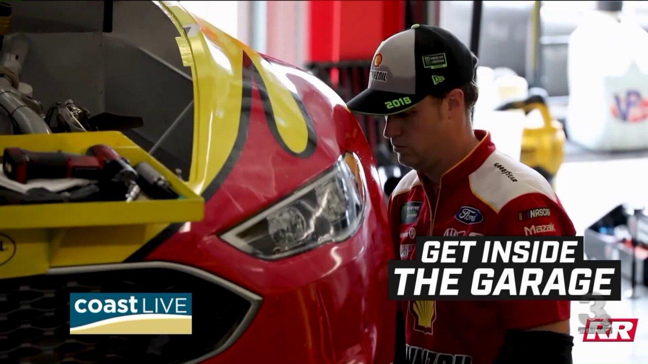 Talking NASCAR with the Richmond Raceway Track President on CoastLive