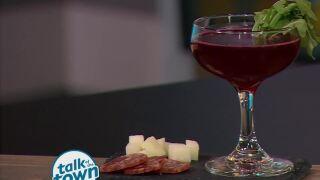 """Just Beet It"" Cocktail from Amy Van Buren at Kayne Prime"