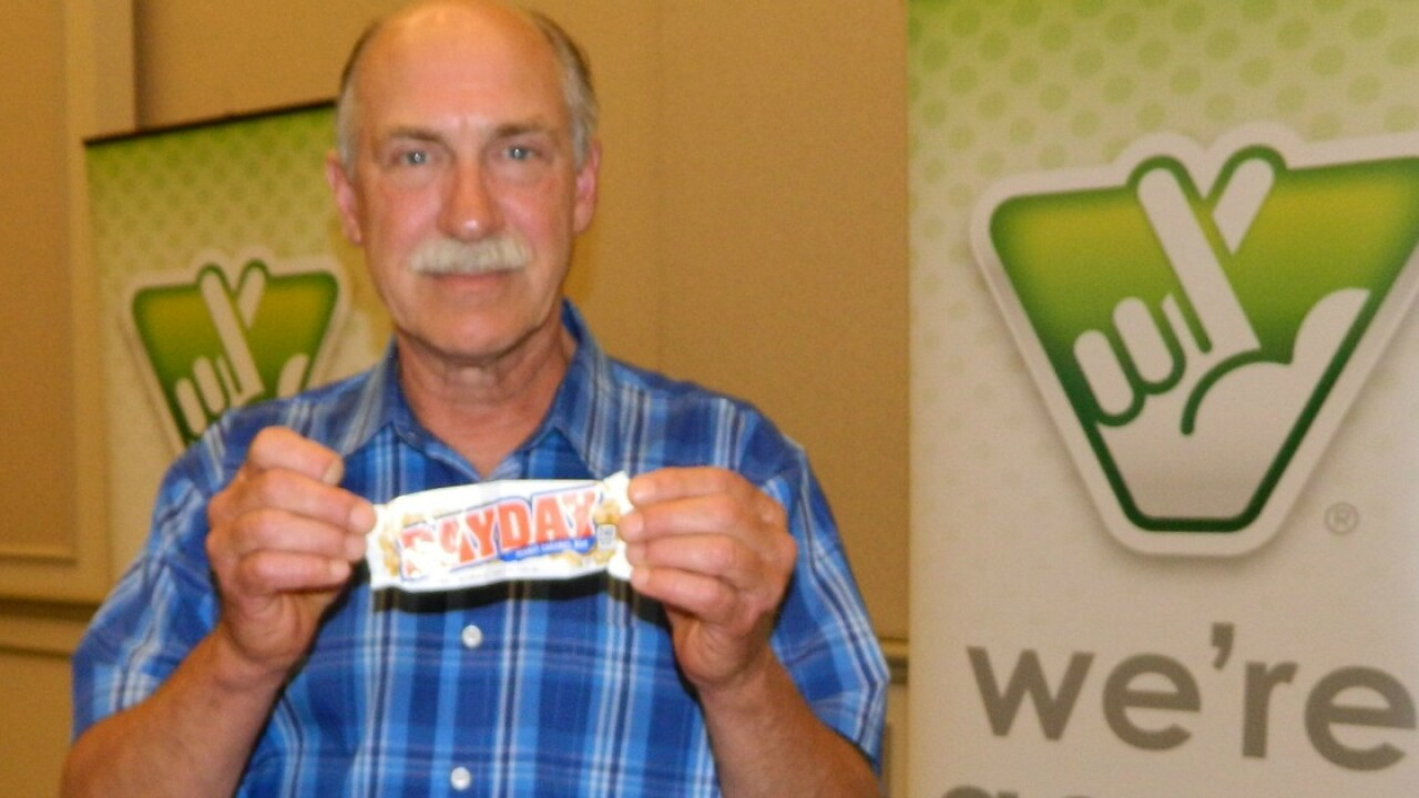 Virginia man's hankering for a candy bar leads to $4 million lottery win