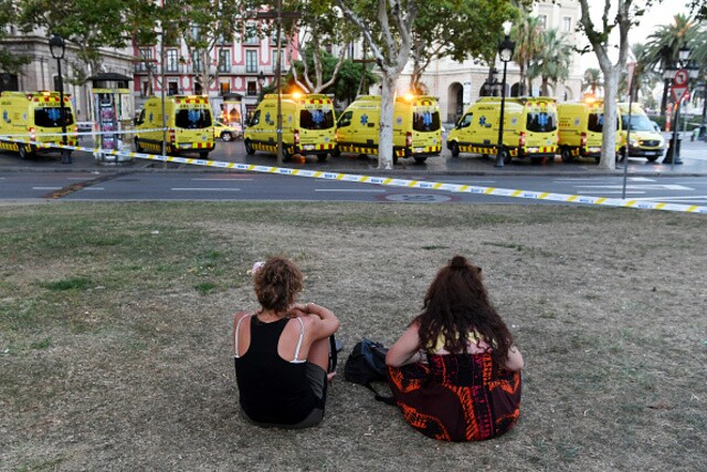 Photos: The aftermath on Las Ramblas after terror strikes Barcelona