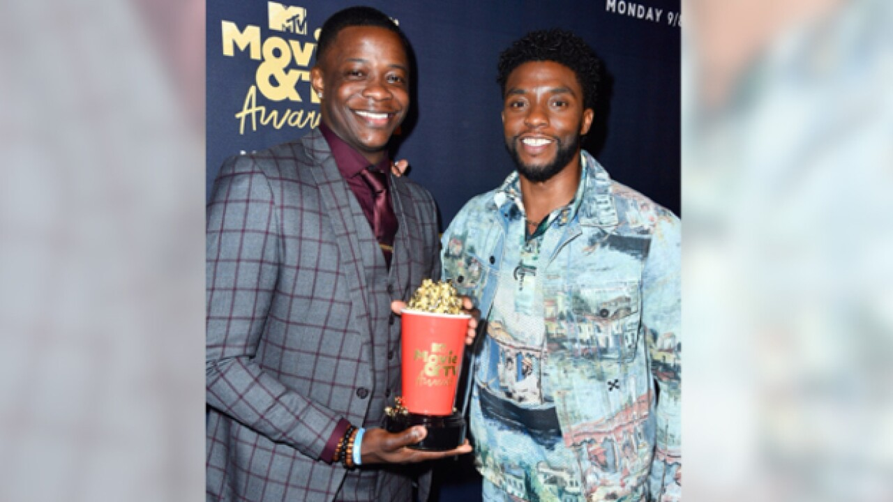 James Shaw Jr. honored at MTV Awards
