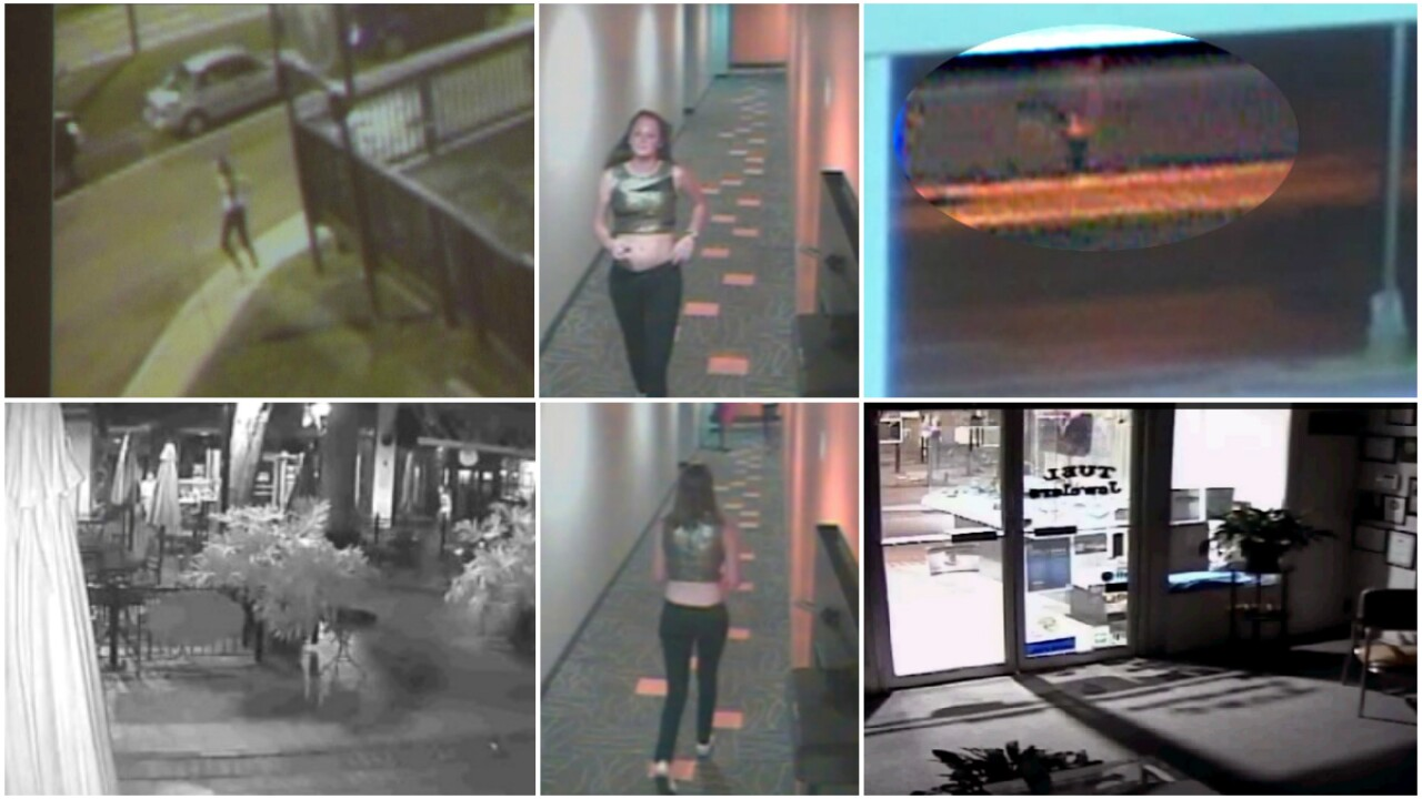 All surveillance videos of missing UVa. student Hannah Elizabeth Graham