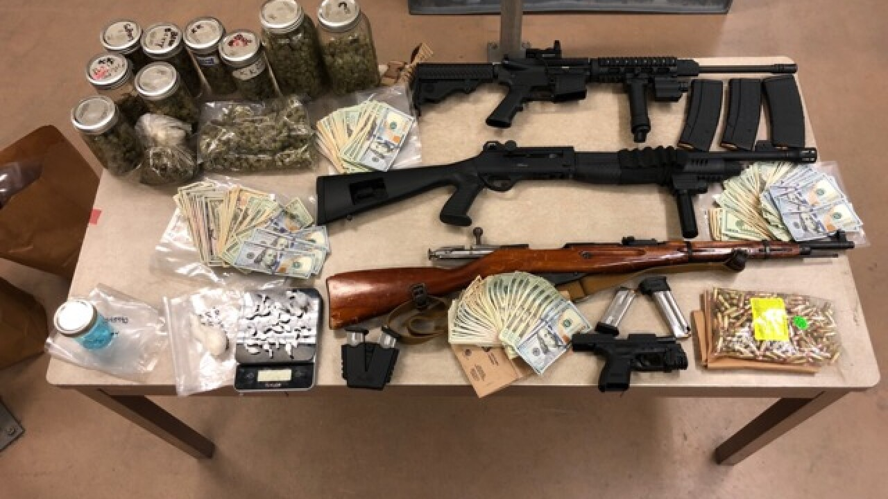 Image result for images of drugs and guns