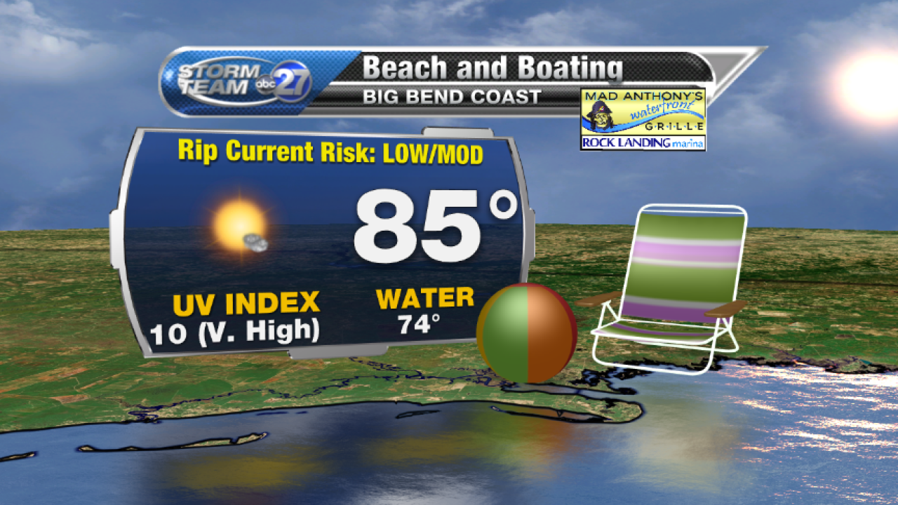 Beach and Boating forecast B (05/09/2017)