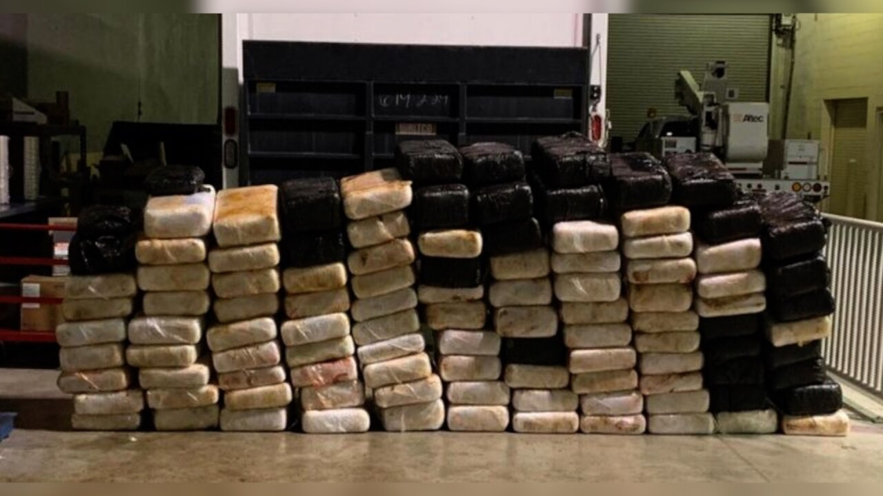 Local law enforcement agencies make large drug, money busts