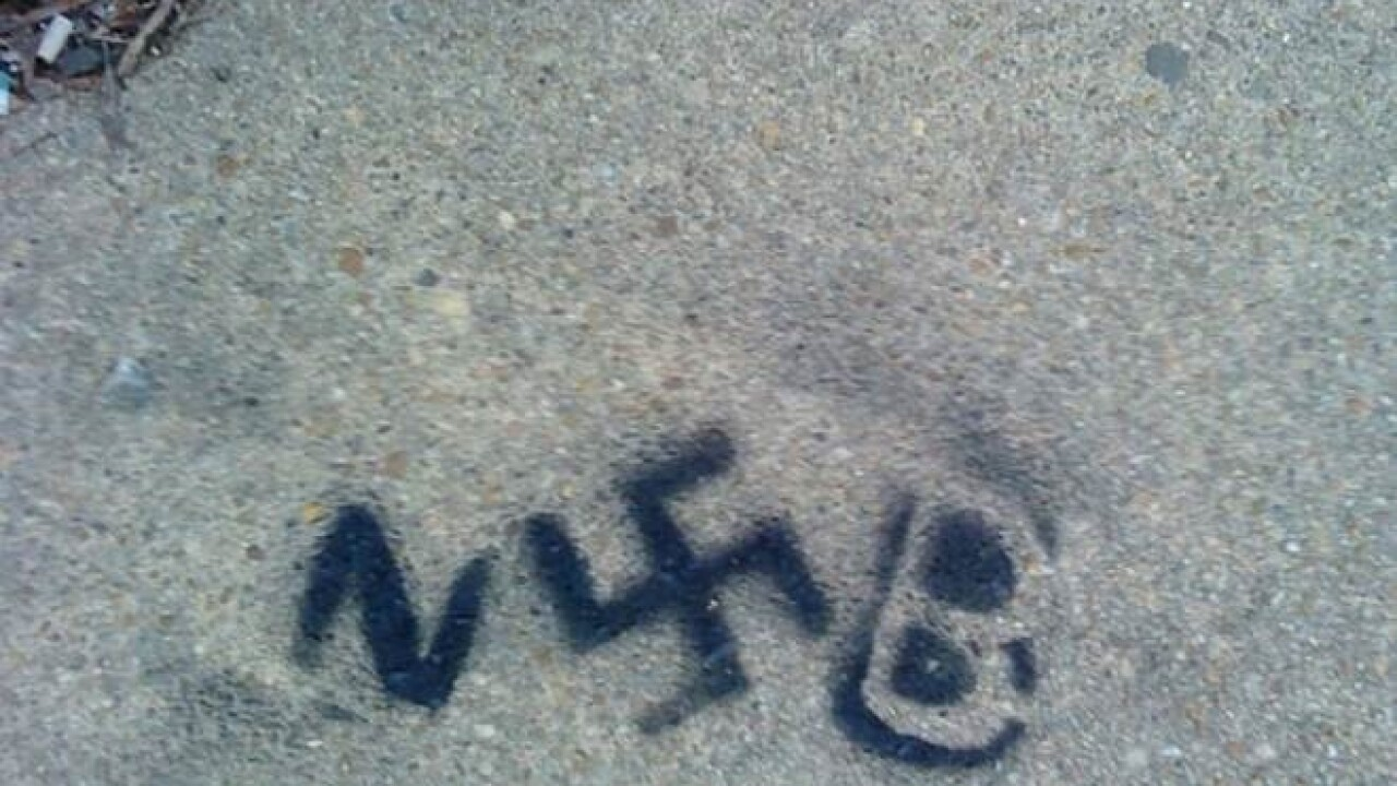 Spray-painted swastikas found in Museum District
