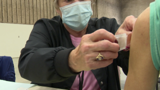 Flu shot in Great Falls (September 22, 2021)