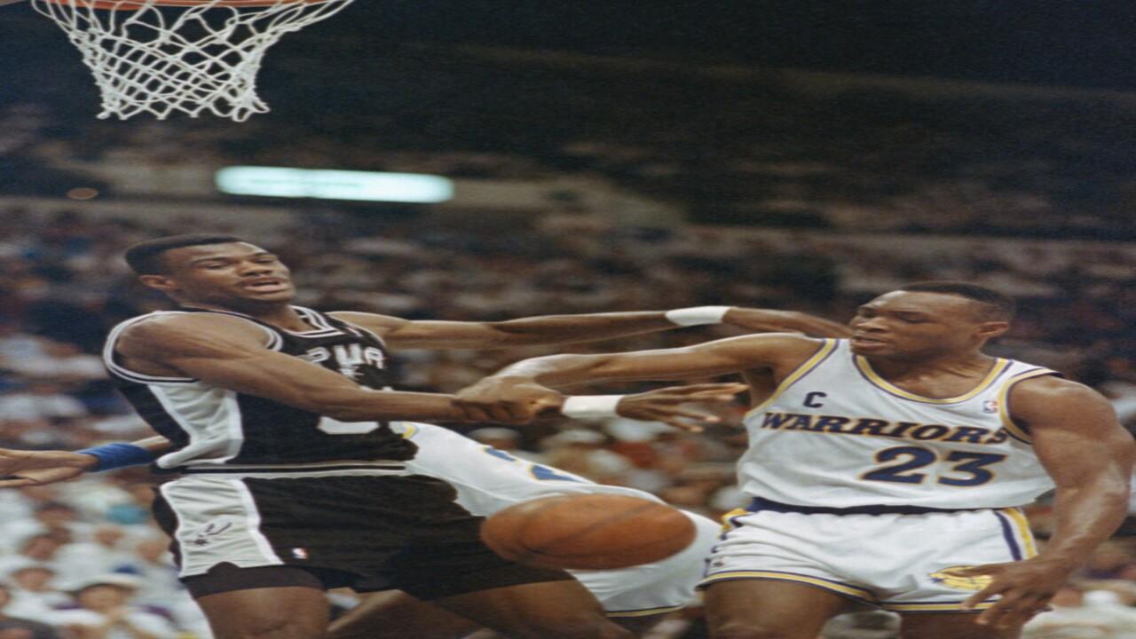 Basketball Games NBA Playoff 1991 San ANtonio  vs Golden State