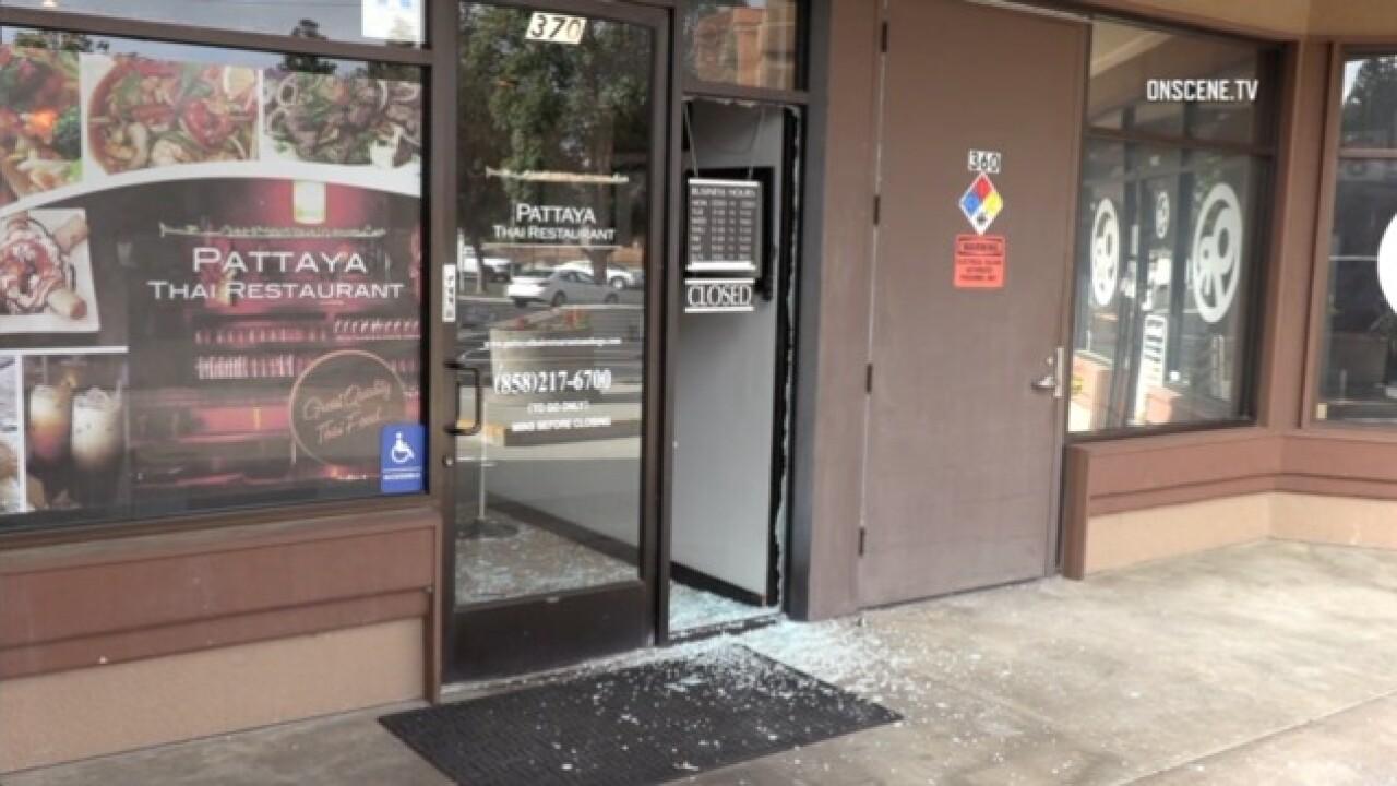 Three Men Arrested In Rancho Bernardo Restaurant Burglaries