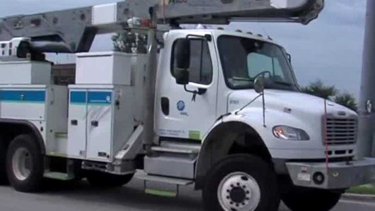 FPL crews heading to areas in Florence's path