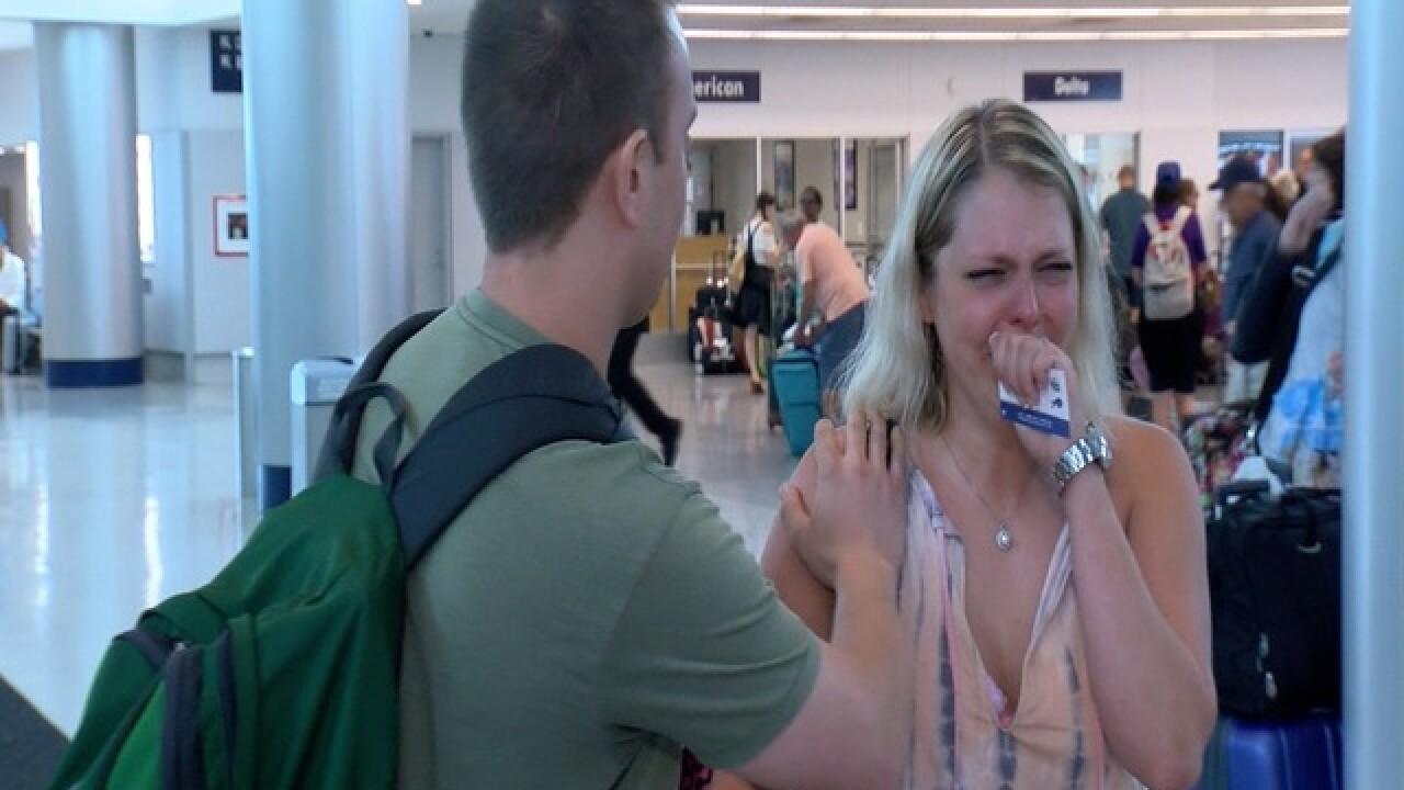 Airline makes good on Honeymoon heartbreak