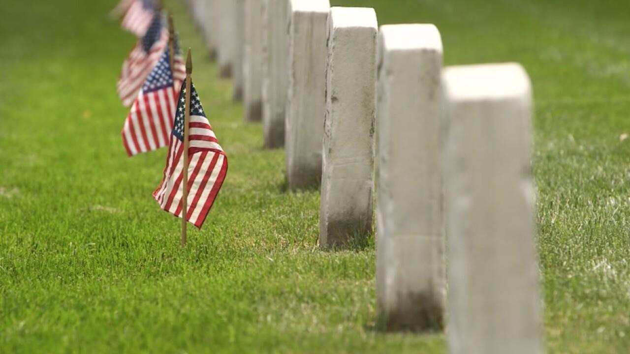 Arlington Cemetery graves