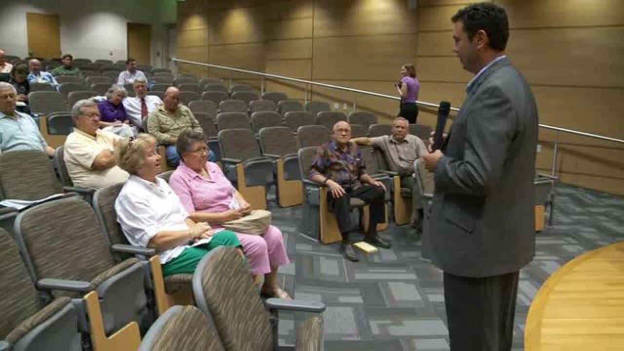 Video: Jason Chaffetz town hallmeeting
