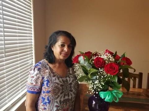Rachel's mother, Salisha