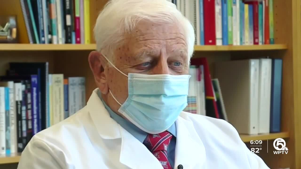 Dr. Charles Hennekens, concerned about people using Ivermectin instead of getting vaccinated