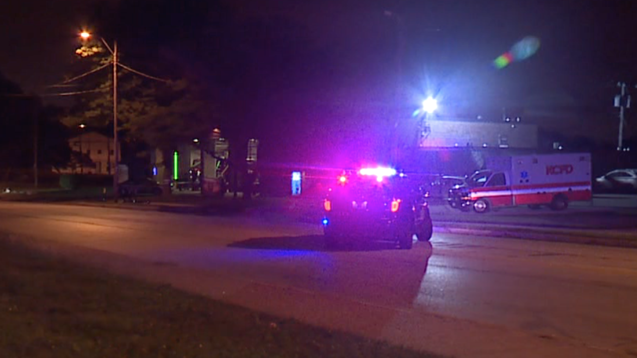 Shooting KCFD station 31st and Indiana
