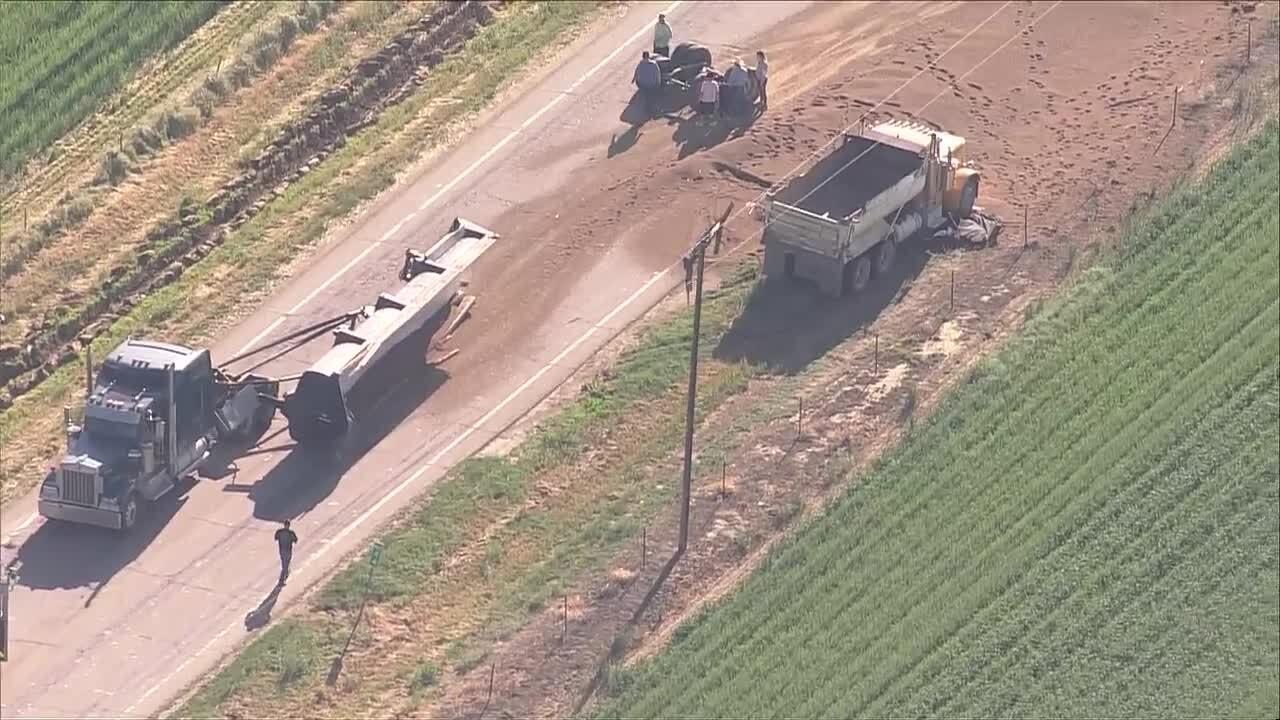 Crash on Hwy 66 east of I-25_June 9 2021